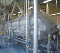 Continuous Fluid Bed Dryers